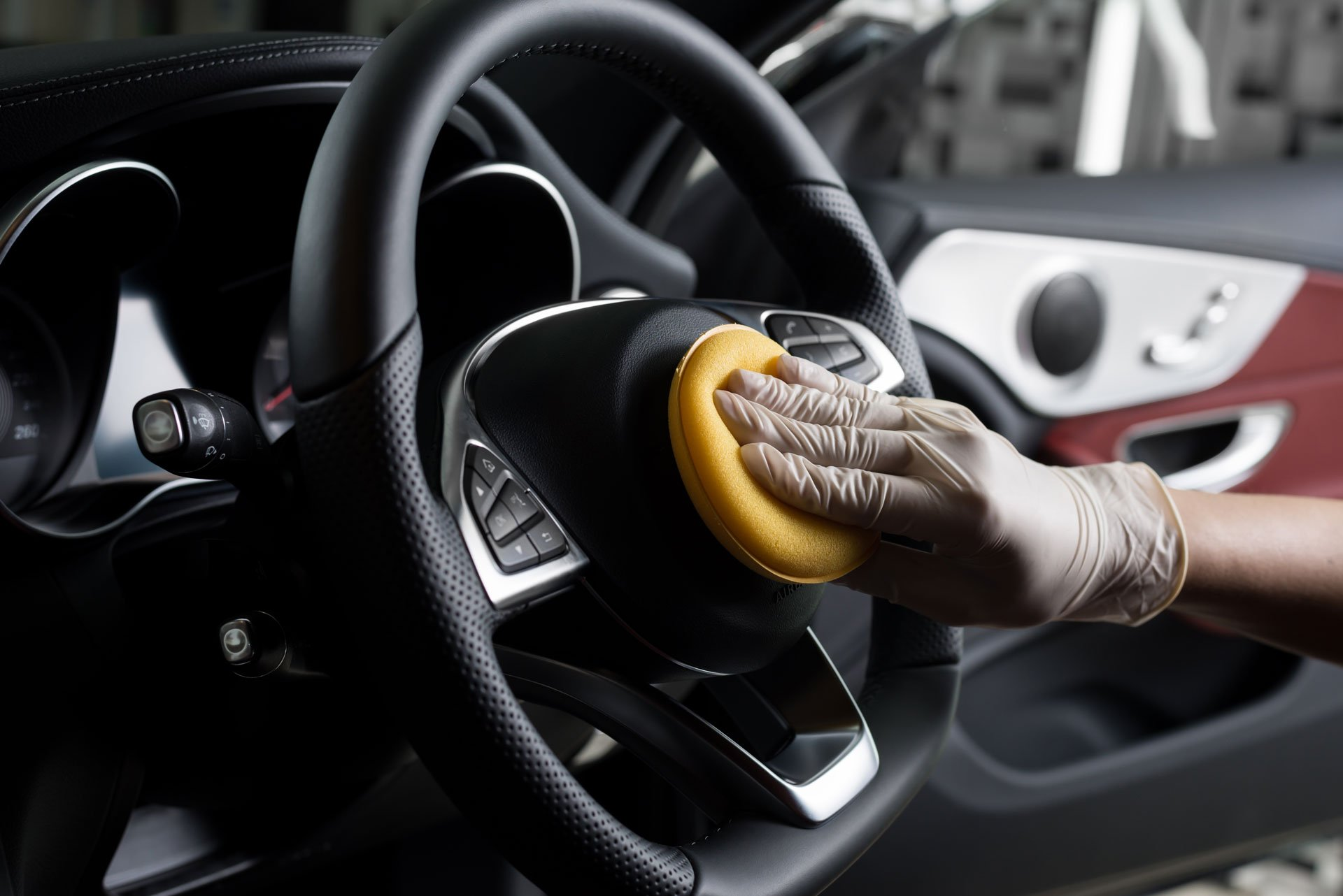 We'll detail and clean every part of your car's interior
